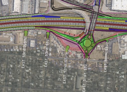 51st and I35 Plans