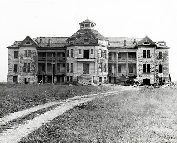 Old Orphanage where Highland Mall is Now
